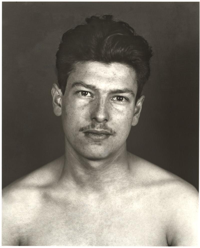 Erich et August Sander, Prisonnier politique Marcel Ancelin — La Grande Ville, Prisonniers politiques, 1943 © Die Photographische Sammlung
