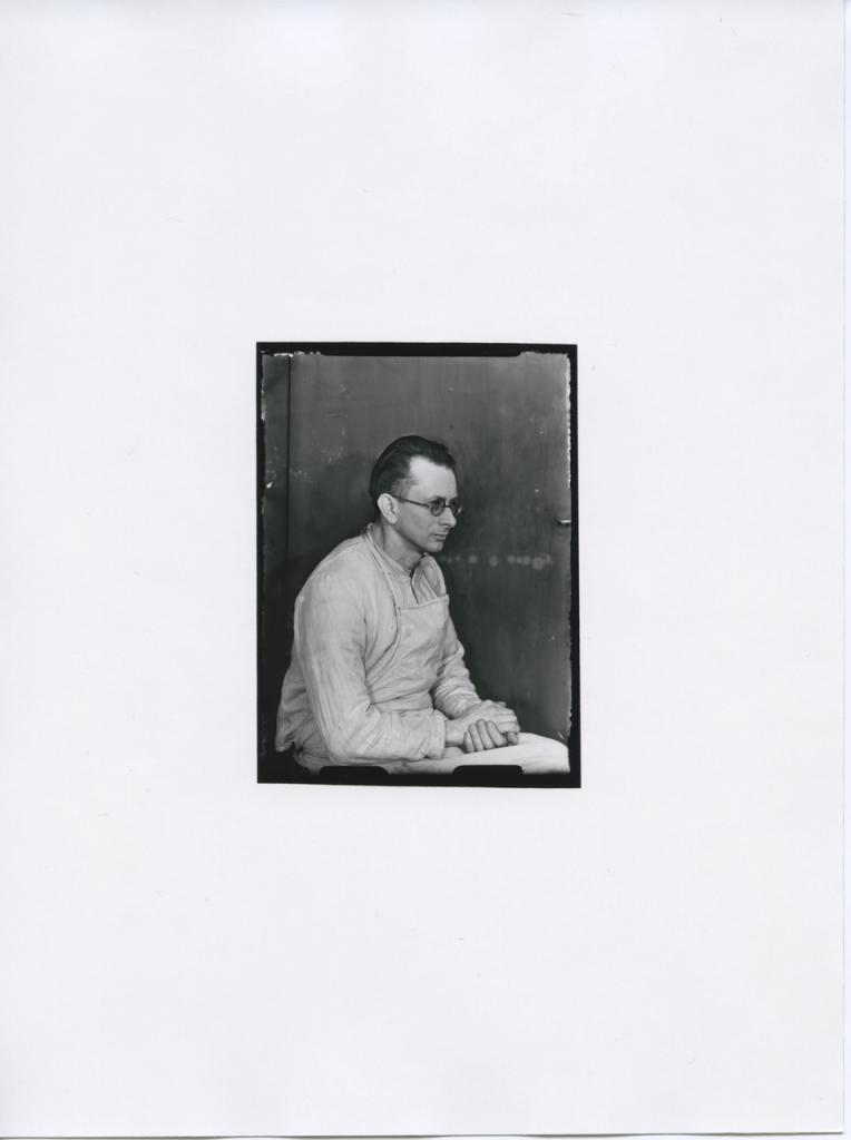 Erich Sander, Prisonnier politique Erich Sander,1936-1940 © Die Photographische Sammlung