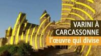 Felice Varini à Carcassonne