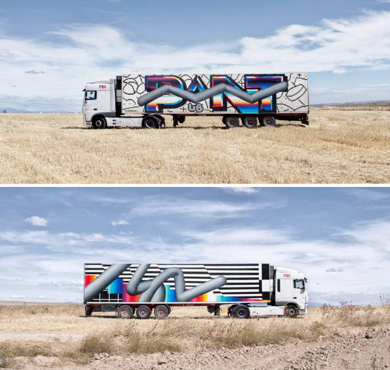 Felipe Pantone. (© Truck Art Project)