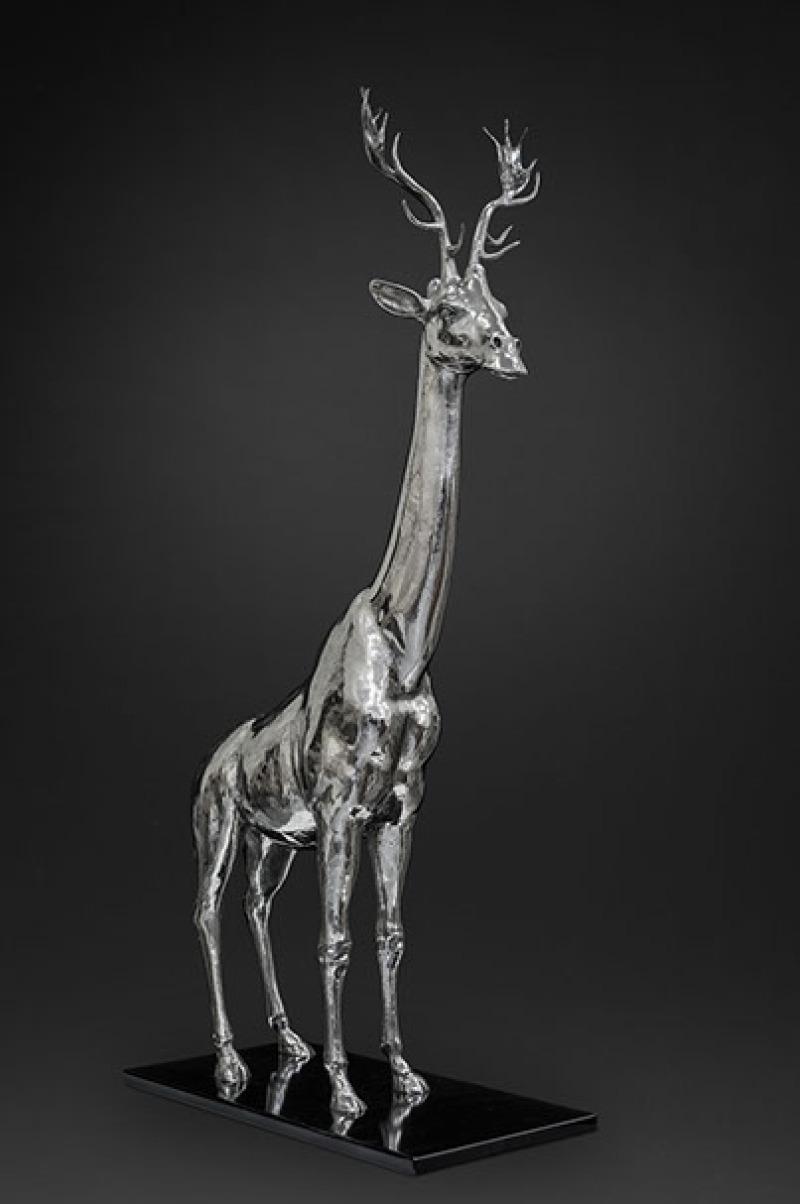Mauro Corda, Girafe-cerf, 2016