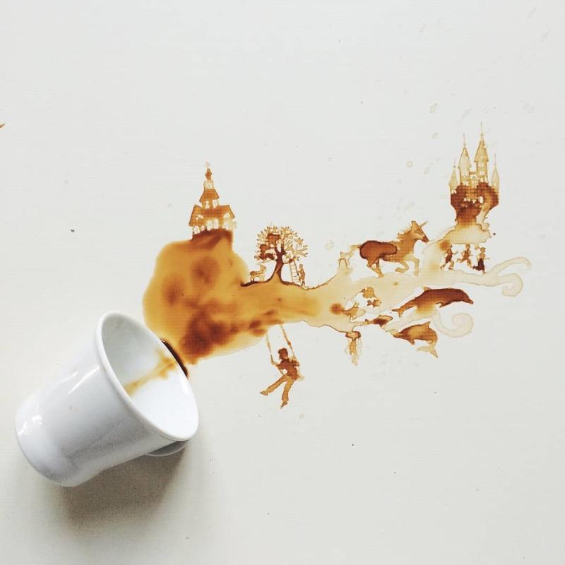 © Giulia Bernadelli, paysage coffe