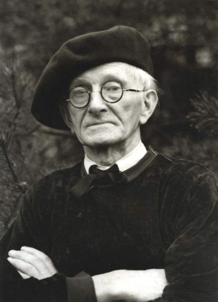 Gunther Sander, August Sander à Kuchhausen, 1956 1958 © Die Photographische Sammlung