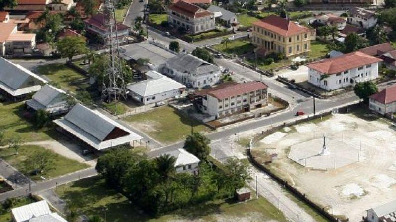 Guyane-la maison du receveur des douanes