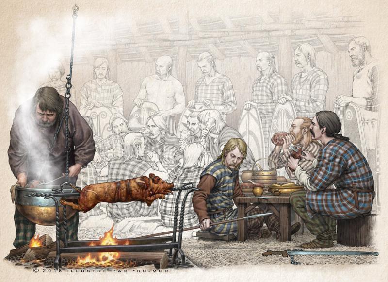 Illustration - banquet