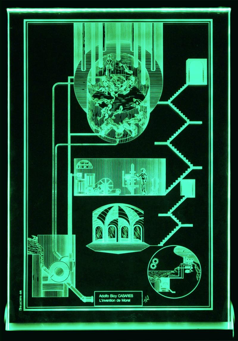 © Jean-Louis Couturier Petit Verre vert-Invention de Morel