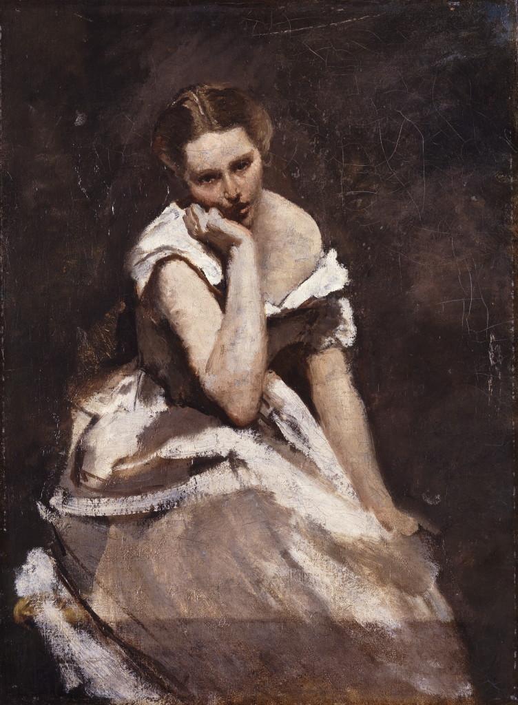 Corot, Mélancolie, 1860