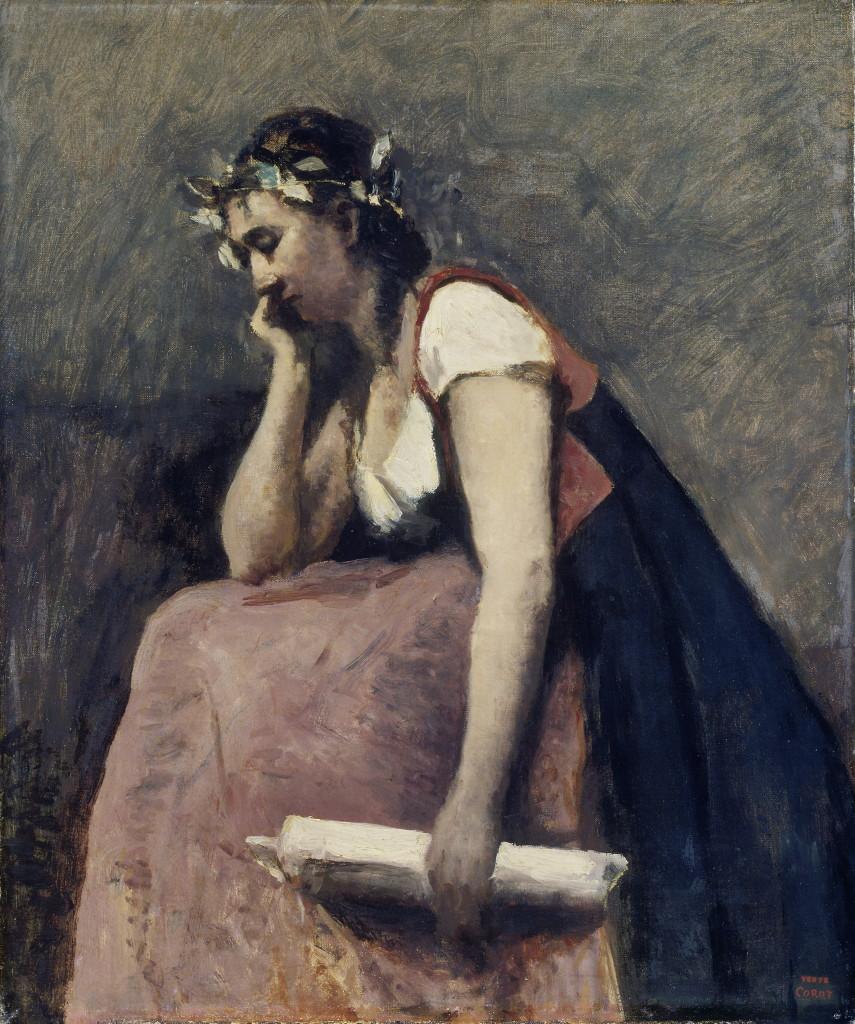 Jean Baptiste Camille Corot, La poésie, 1865-70