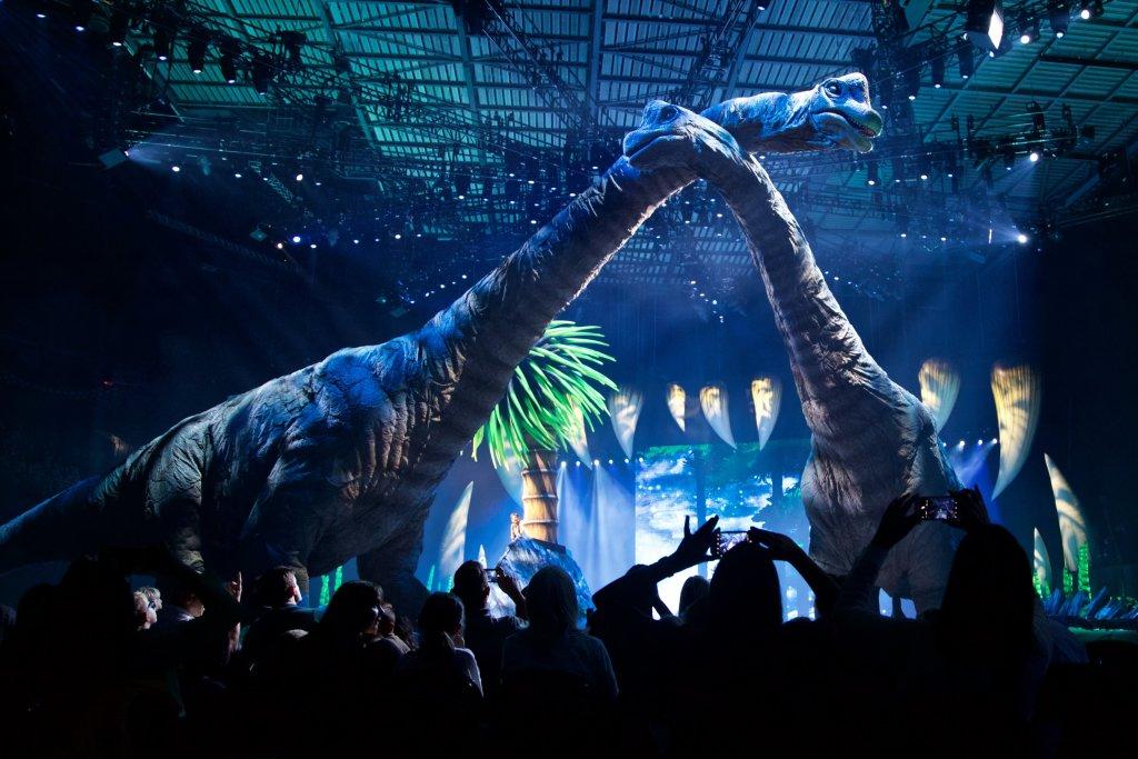 La marche des dinosaures - AccorHotel Arena - IMG_3693