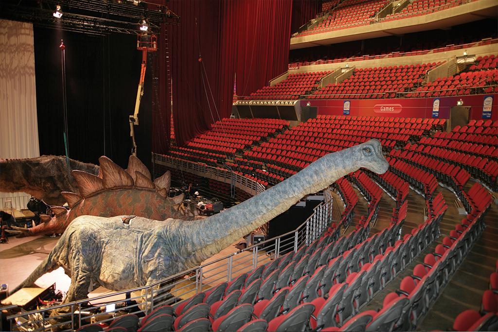 La marche des dinosaures - AccorHotel Arena - Making of5