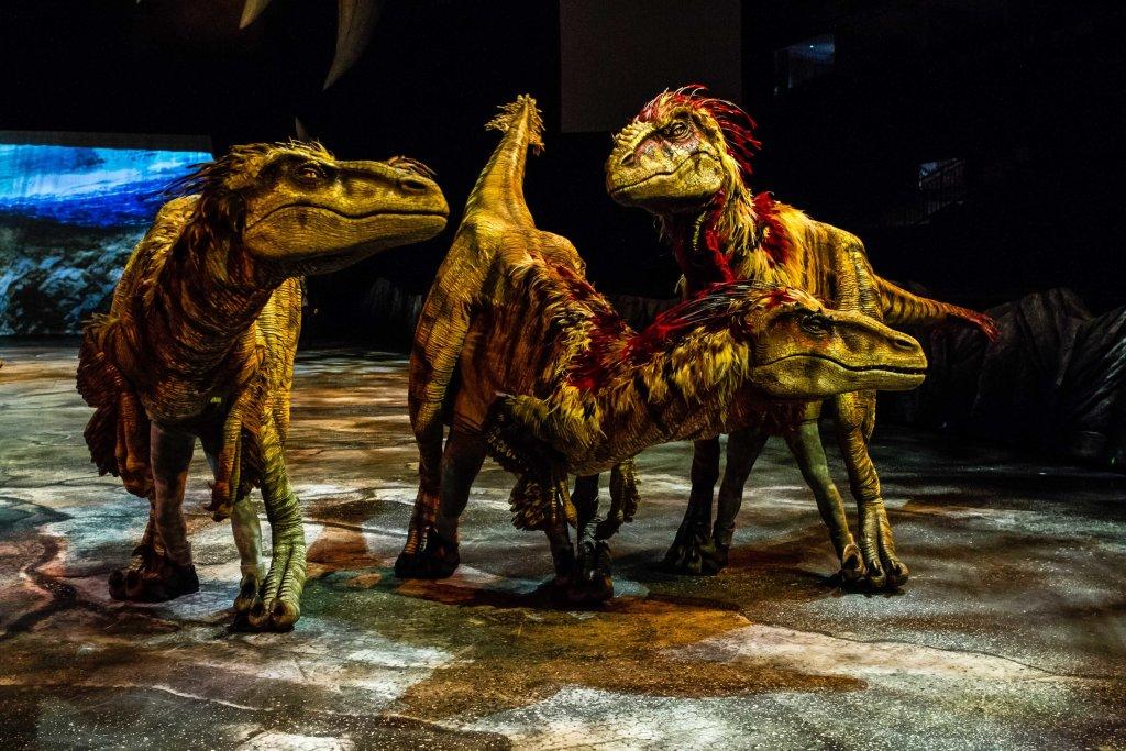 La marche des dinosaures - AccorHotel Arena - Raptors 4