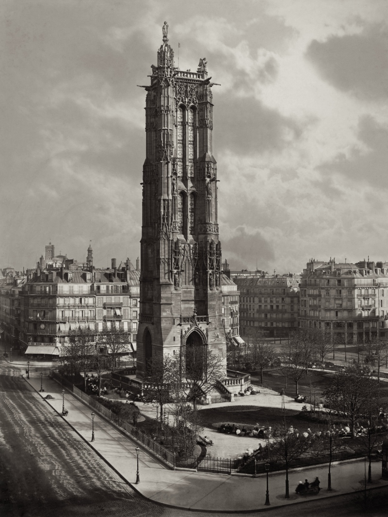 Tour Saint-Jacques, 1867