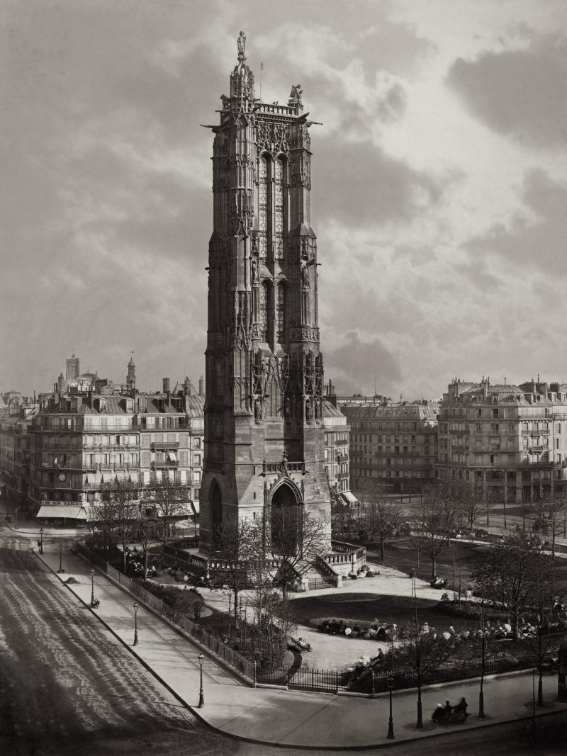 Tour Saint-Jacques, 1867