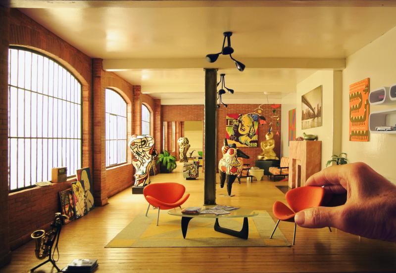 Dan Ohlmann, Le loft du collectionneur de Brooklyn 1/12e