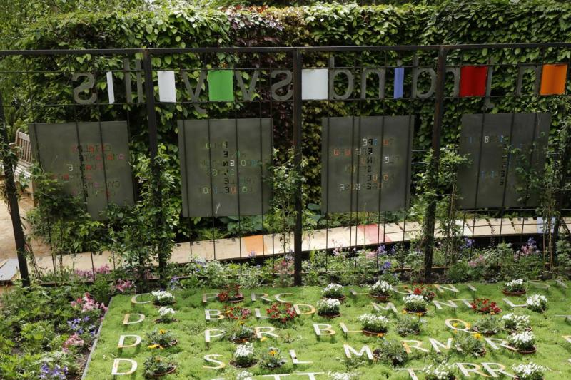 Le jardin des voyelles