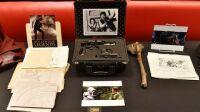le pistolet de Han solo dans la saga Star Wars est exposé à New York le 21 mai 2018