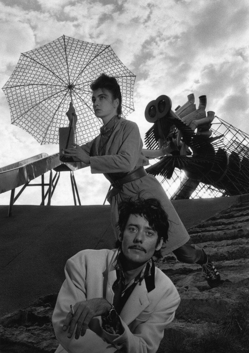 Les Rita Mitsouko 13 octobre, Parc de la Villette, 1988
