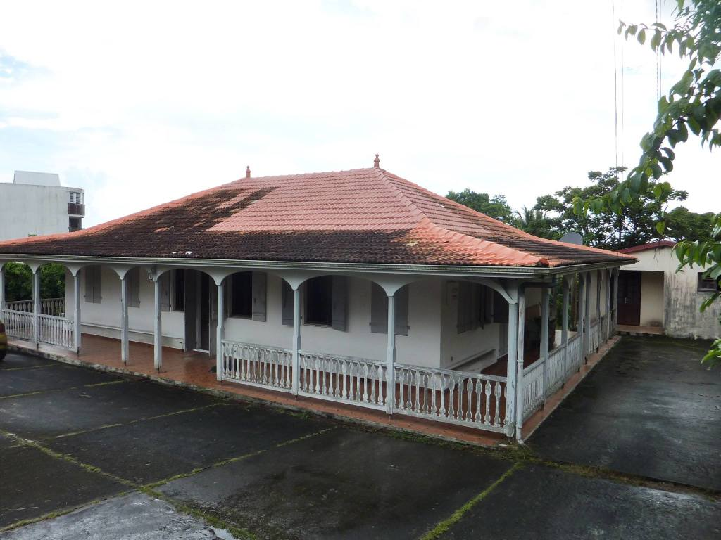 Maison d'Aimé Césaire à Fort de France (Martinique)
