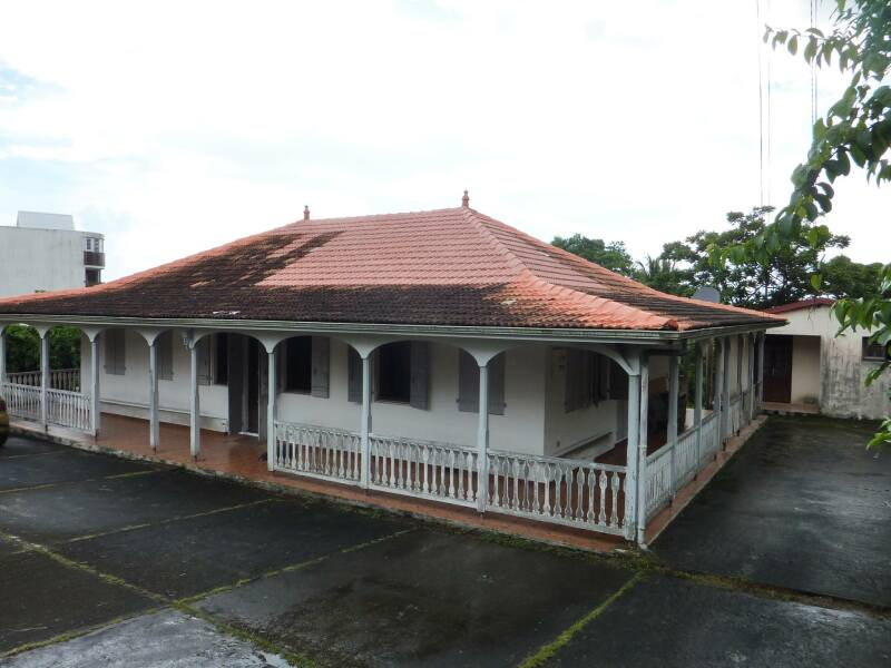 Maison d'Aimé Césaire à Fort de France (Martinique)