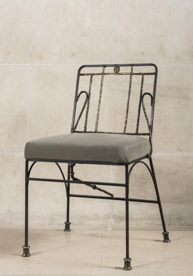 Diego Giacometti, Chaise d'après un modèle de 1955, 1983-1985