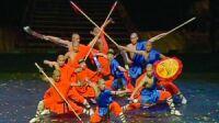 moines shaolin en tournée