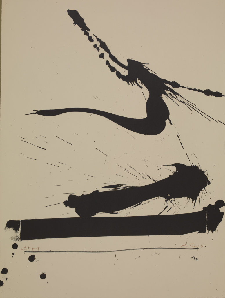 Robert Motherwell, Automatism A, 1965-66