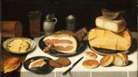 Nature morte au jambon par Floris Van Schooten © RMN-Grand Palais Franck Raux