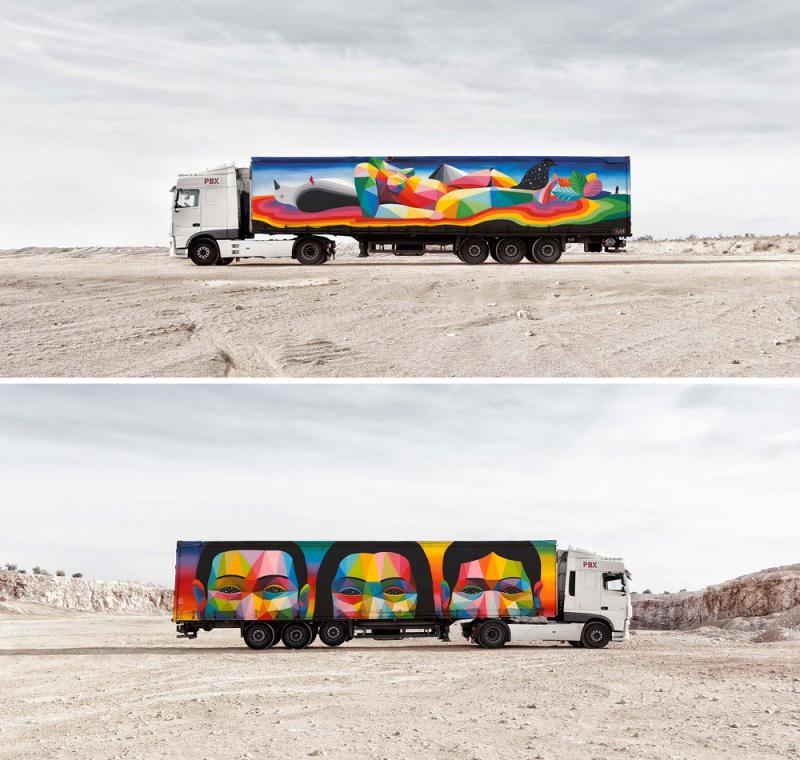 Okuda San Miguel. (© Truck Art Project)