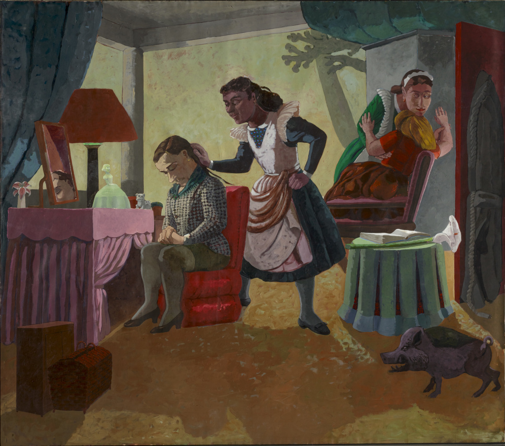 Paula Rego, The Maids, 1987