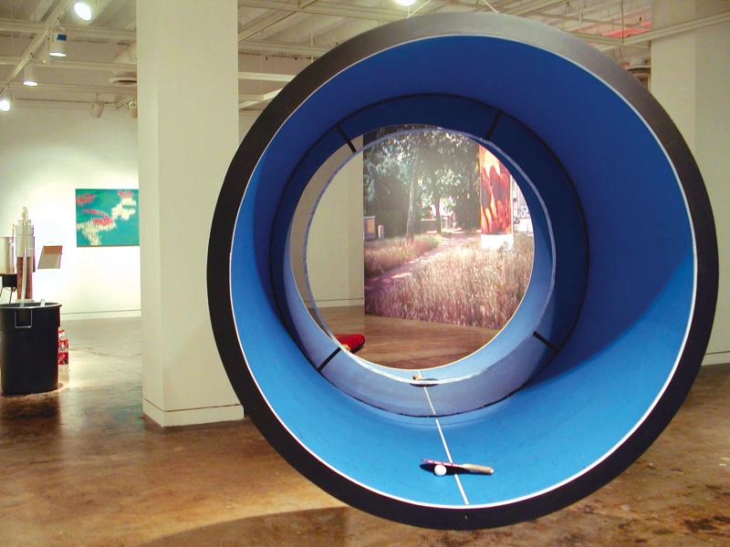 Laurent Perbos, Ping-pong pipe, 2002