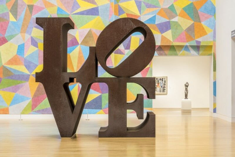 Robert Indiana, LOVE, Indianapolis Museum of Art