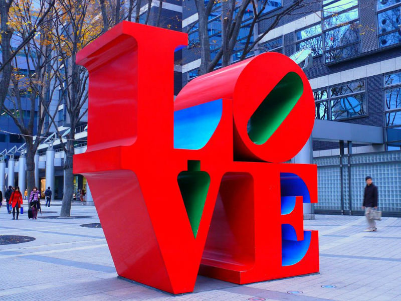 Robert Indiana, LOVE, Milwaukee
