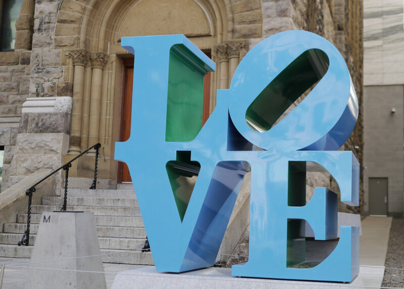 Robert Indiana, LOVE, Montréal