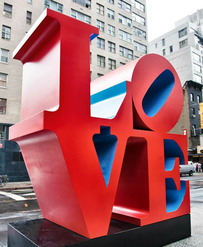 Robert Indiana, LOVE, New-York