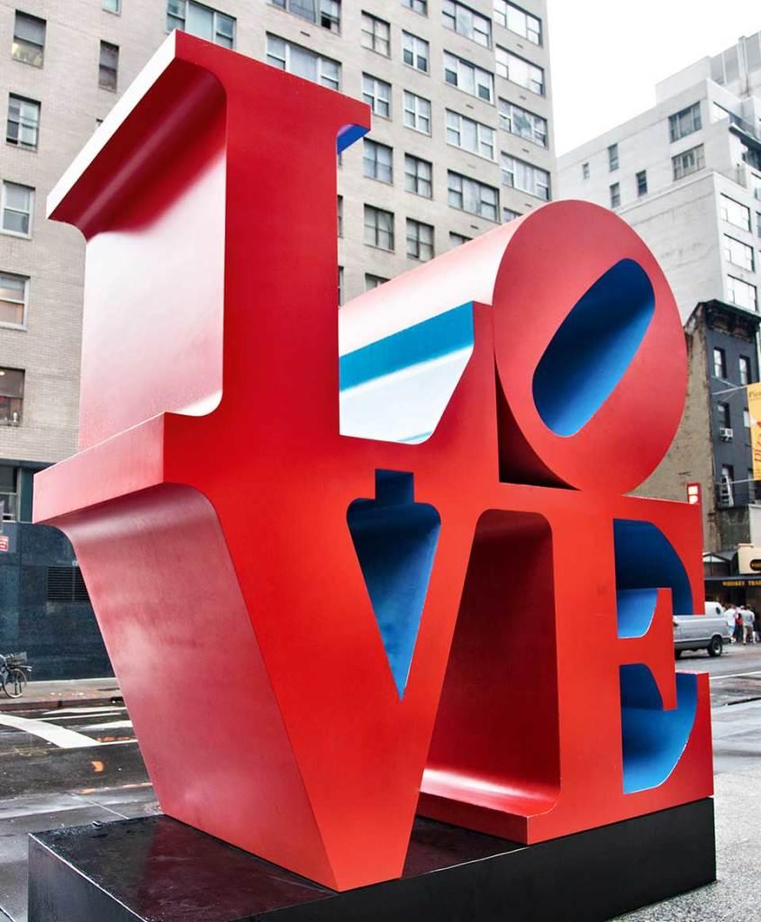 Robert Indiana, LOVE, New-York