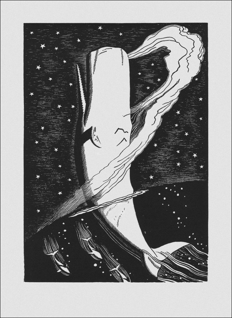 Rockwell Kent, Moby Dick ou le Grand souffle