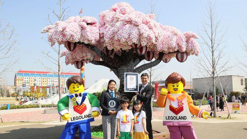 Sakura Legoland Japan Guiness medal