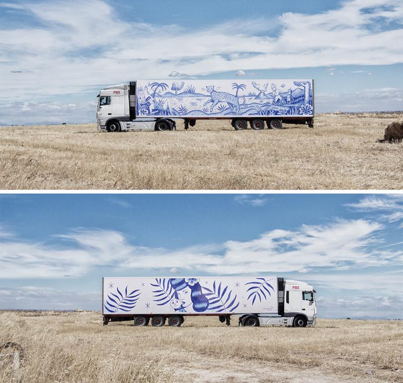 Sergio Mora. (© Truck Art Project)
