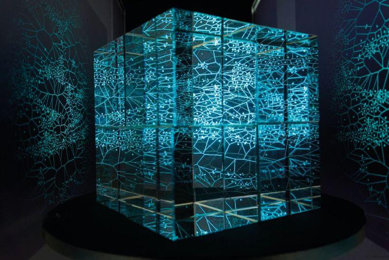 Soleidoscope, Yann Nguéma assisté d'Arnaud Doucet, 2018