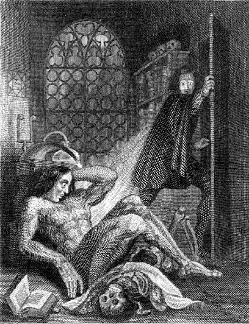 Theodore Von Holst, Frankenstein