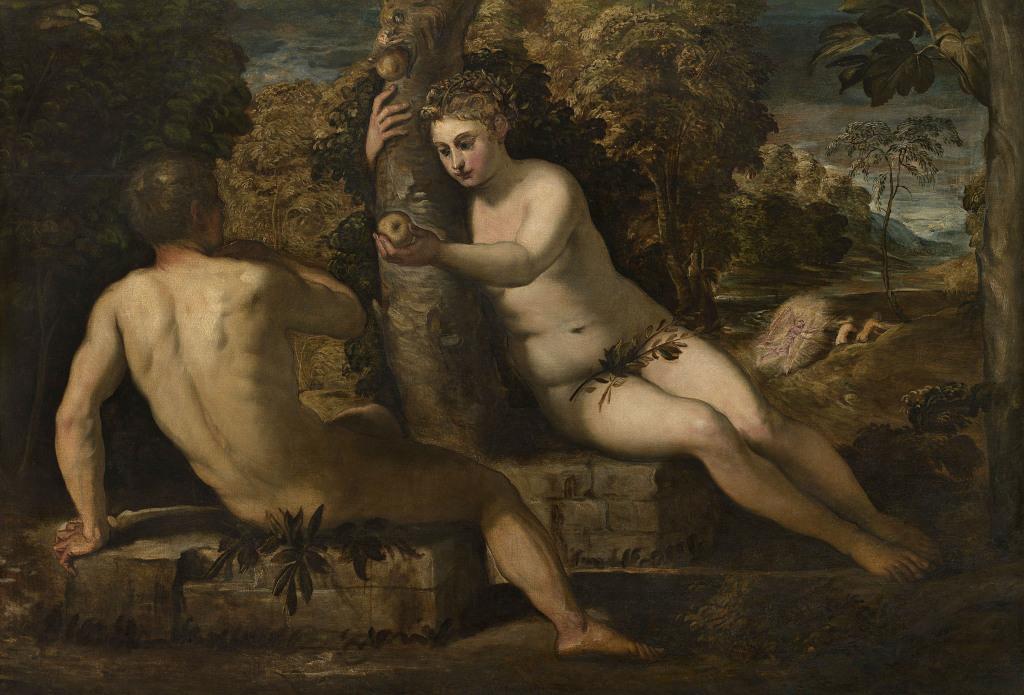 Le Tintoret - Le péché originel