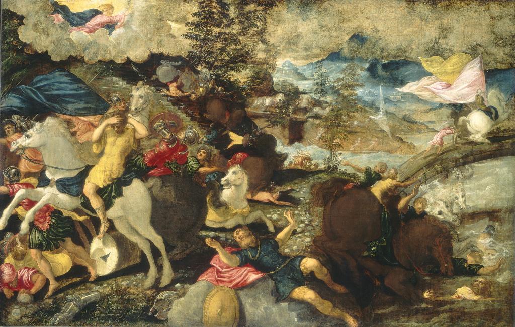 Le Tintoret - La conversion de Saint Paul, 1545