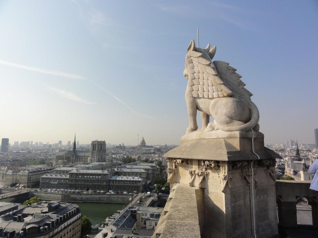 Vue depuis la Tour Saint-Jacques