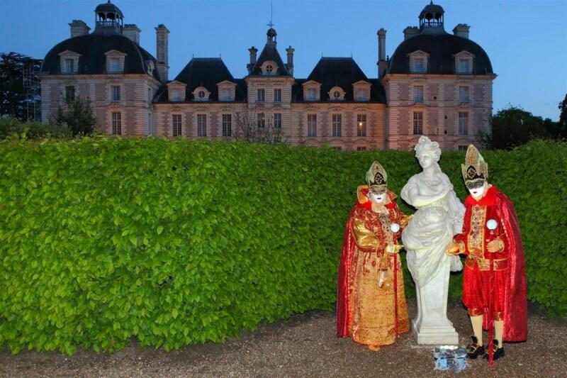 Bal vénitien au Château de Cheverny