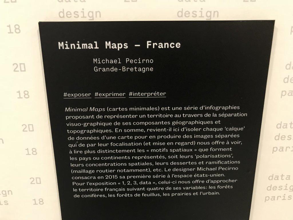 Vue de l'exposition 1, 2, 3 Data - Fondation EDF (5)