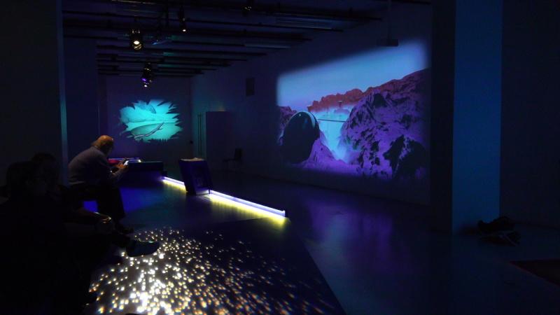 Vue de l'exposition Capitaine Futur - Gaîté Lyrique (2)