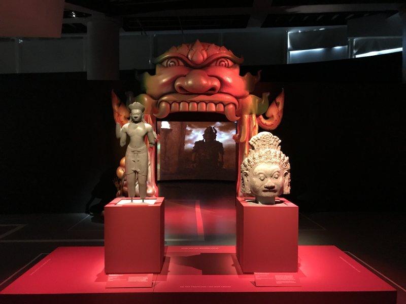 Vue de l'exposition Enfers et fantômes d'Asie - Musée du Quai Branly - Jacques Chirac (17)