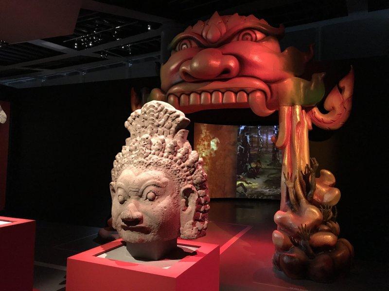 Vue de l'exposition Enfers et fantômes d'Asie - Musée du Quai Branly - Jacques Chirac (20)