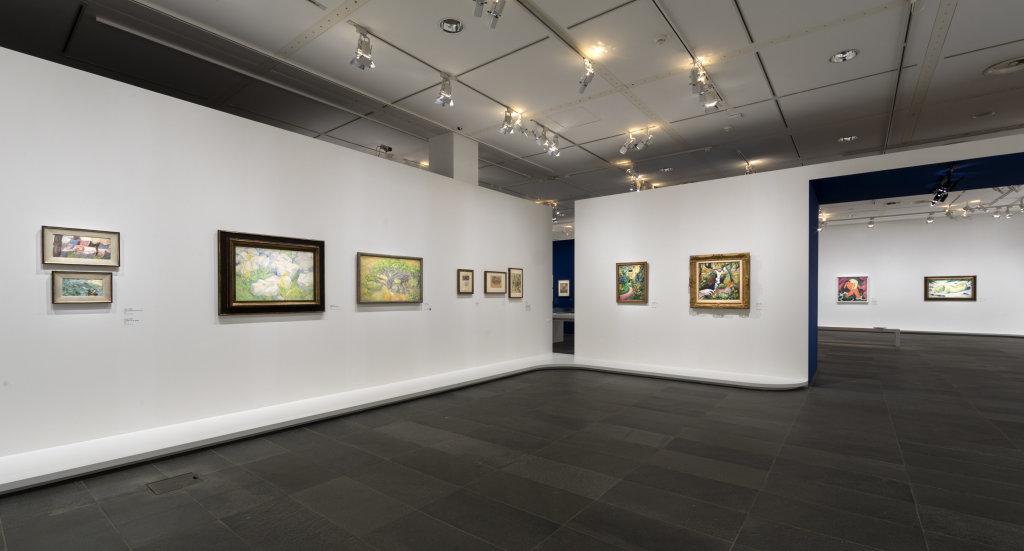 Vue de l'exposition Franz Marc - August Macke, Musée de l'Orangerie, Paris (11)