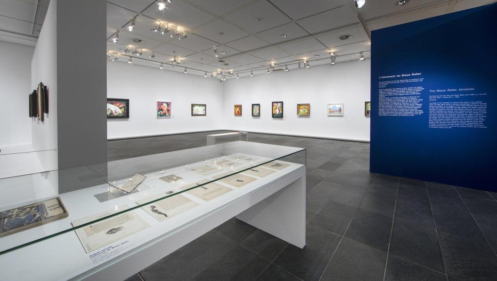 Vue de l'exposition Franz Marc - August Macke, Musée de l'Orangerie, Paris (14)